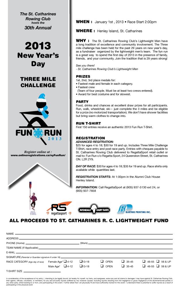St. Catharines Rowing - Fun Run 2013-001