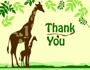 ThankYouGiraffes