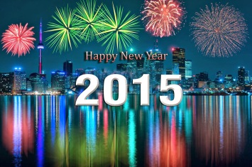 Happy New Year hd wallpaper 2015