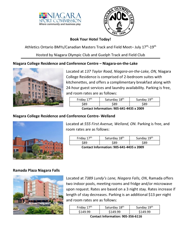 Hotel Rates for Track and Field Meet (1)-001
